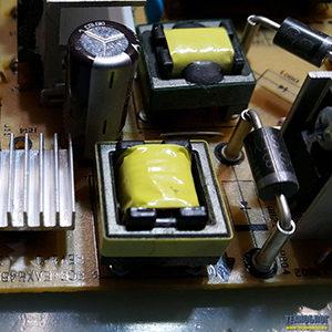 LG 32LA620V-ZA не включается, телевизор задымил, ремонт блока питания LGP32-13PL2